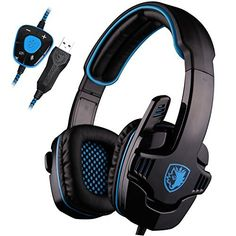 FarCry 5 Gamer  #UL #SADES #SA901 7.1 #Surround #Stereo #Pro #USB #Gaming #Headset with #Mic #Deep #Bass #Headband #Headphone (Blue)   Price:     ADES ,with over 20 years of professional production experience and strong technical force,is outstanding in the circel of #gaming peripherals ,devoting whole life to provide highest standard and professional #gaming accessories.  Company with its own industrial park and 250 R&D technicians for modeling, structure design, electronics