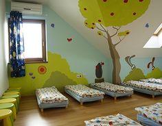 mural for kindergarden