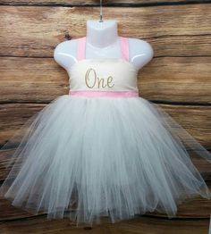 Girls First Birthday Dress by RedLizardBoutique on Etsy