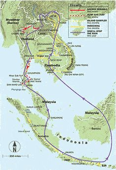 Itinerary for Travelling Southeast Asia  Southeast asia Asia and