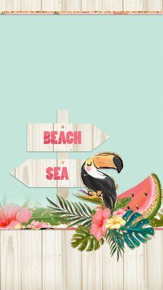 Et Wallpaper, Wallpaper Backgrounds, Iphone Wallpaper, Tropical Wallpaper, Summer Wallpaper, Beach Wallpaper, Wallpaper Telephone, Tropical Background, Summer Backgrounds