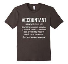 Amazon.com: Accountant Definition Funny T-shirt: Clothing