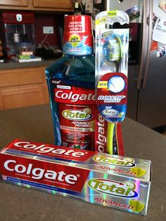 Sarah has made the switch to Colgate Total Advanced! Come find out why she is loving her #HappyHealthySmiles! #shop #cbias
