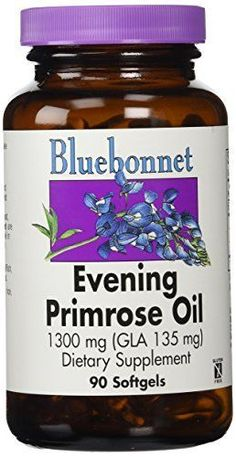 Bluebonnet's Evening Primrose Oil is oil from the seed of the evening primrose plant. It is used for skin disorders such as eczema, psoriasis, and acne. It is also used for rheumatoid arthritis, weak bones, Raynaud's syndrome, MS, and many other diseases and disorders. Women take... more details at http://supplements.occupationalhealthandsafetyprofessionals.com/herbal-supplements/evening-primrose/product-review-for-bluebonnet-evening-primrose-oil-softgels-1300-mg-90