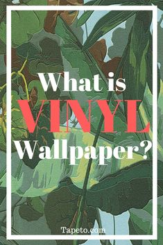 Is Vinyl Wallpaper too Good to be True?  Vinyl is used everywhere; vinyl flooring, vinyl siding, you name it. So it's no wonder that vinyl wallpaper also exists. After all, vinyl is an extremely practical material, being as durable and water resistant as it is. But what are the differences between the different types of vinyl wallpaper and how do they compare to other wallpaper materials? Stick around to find out the many benefits and possible concerns of vinyl wallpaper.