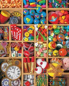 Puzzle SPRINGBOK: Puzzle de 2000 piezas Puzzle de tesoros de juguetes ( Ref: 0000020495 ) en Puzzlemania.net