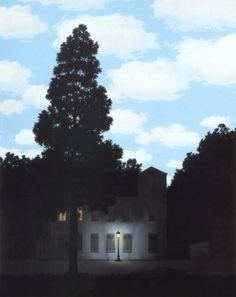 L'Empire des Lumières by Rene Magritte.