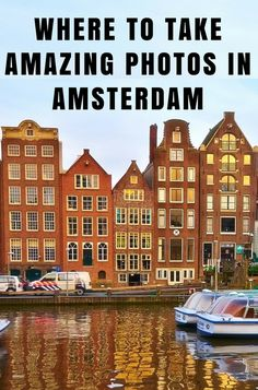 The following are great photography locations for shooting throughout Amsterdam. Head here if you're looking to travel like a photographer & not a tourist. via @mappingmegan
