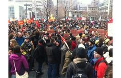 Major student demonstration planned for Tuesday afternoon in Montreal