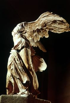 "EMOTIONS: DIGNIFIED  ""Nike Of Samothrace""  Helenistic Art of Ancient Greece  1863 discovered http://www.wmich.edu/art/arthistory/protected/gallery2200/nike_samothrace_side.htm"