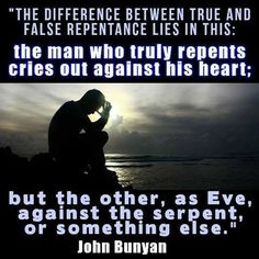 Repentance brings humility and humility brings peace and joy John Bunyan Biblical Quotes, Scripture Quotes, Faith Quotes, Wisdom Quotes, Bible Verses, Scriptures, Progress Quotes, John Bunyan, Reformed Theology