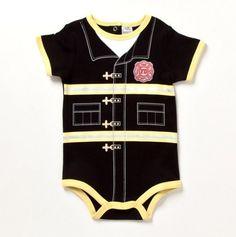 Infant Fireman Creeper - Baby Essentials Bubble Dresses & Sets - Events