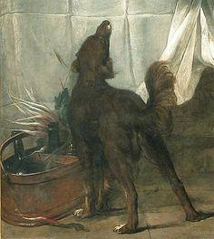 Jean Siméon Chardin - Le buffet - le chien 1728 – Louvre