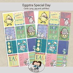 SoMa Design: Eggstra Special Day - Cards