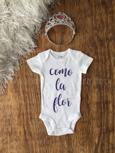 671ddeef0 Items similar to Baby Shower Gift, First Birthday Gift, Selena Quintanilla,  Custom Baby Gift,Baby Girl Shirt,Baby Girl Clothes, Baby Girl Outfit, ...