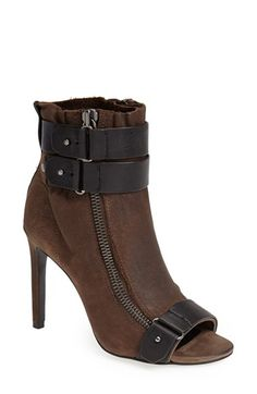 Dolce Vita 'Harbor' Open Toe Bootie (Women) available at #Nordstrom. Ready for the fall even if Houston feels like summer.
