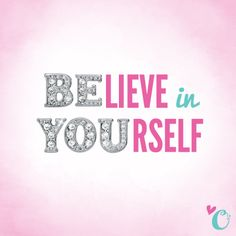 Origami Owl want you to BElieve in YOUrself. We do. #quotes #origamiowl