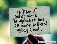 more than one plan.