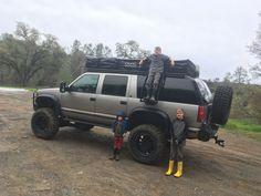 Chevy Tahoe Z71, Chevrolet 4x4, Chevrolet Suburban, Custom Chevy Trucks, Gmc Trucks, Adventure 4x4, Tactical Truck, Build A Camper Van, Off Road Camping