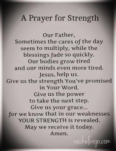 Bible art, prayers for strength and healing, bible quotes for strength, cat Faith Prayer, My Prayer, Strength Prayer, Jesus Prayer, Prayer Quotes, Bible Quotes For Strength, Prayer For Work, Our Father Prayer, Pray For Strength