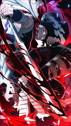My hero academia/Hero Killer Boku No Academia, My Hero Academia Shouto, My Hero Academia Episodes, Hero Academia Characters, Anime Characters, Manga Anime, Anime Demon, Anime Art, Live Wallpapers