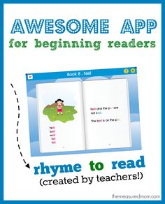 Check out this awesome reading app called Rhyme to Read. Its 20 books are better than any phonetic readers I've seen in print!