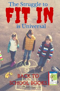 The Struggle to Fit in is Universal. Help kids make it through the first day and week of school by reading this book with them. | Back to School Books from MimsHouse.com