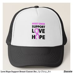 Love Hope Support Breast Cancer Awareness Trucker Hat - Urban Hunter Fisher Farmer Redneck Hats By Talented Fashion And Graphic Designers - #hats #truckerhat #mensfashion #apparel #shopping #bargain #sale #outfit #stylish #cool #graphicdesign #trendy #fashion #design #fashiondesign #designer #fashiondesigner #style