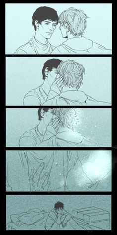 Merthur angst making me feel the need to sob out my own river.