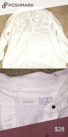 White shirt Cute blowy collard beach shirt Tops Blouses