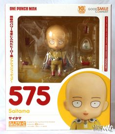ToyzMag.com » Review : Nendoroid Saitama One Punch Man