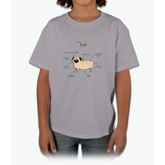 Anatomy of a Pug Young T-Shirt