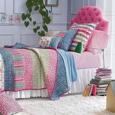 Design Ideas Girls Rooms Madison Quilt
