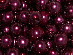 Jewellery Trend - Berry Shades. Preciosa Traditional Czech Glass Pearl Beads Burgundy