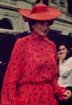 Lady Diana Spencer in 1981.