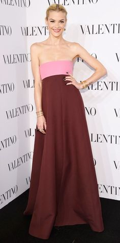 Look of the Day - December 11, 2014 - Jaime King in Valentino from #InStyle