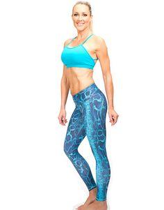 Turquoise Snake Leggings - https://bodyangelactivewear.com/product/capris-leggings/1908r-turquoise-snake-leggings/