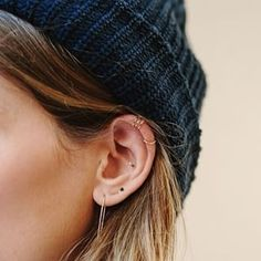 SO MUCH GOING ON. | 28 Adventurous Ear Piercings To Try This Summer