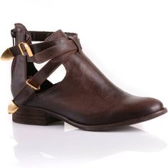 Bota Feminina Coturno Fossil Vernon | Mundial Calçados