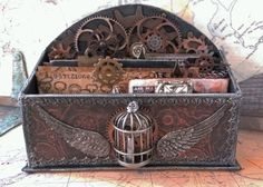 starrgazer creates: Steampunk Mail: Published!