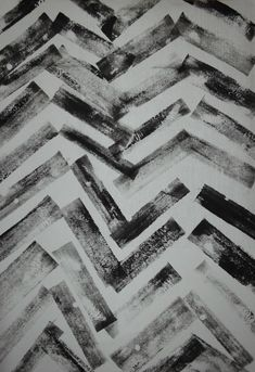 Black Texture This is an example of mark making. The zig-zag pattern looks like it has been made of by a stamp. Surface Pattern, Surface Design, Textures Patterns, Print Patterns, Tinta China, Fashion Design Drawings, Mark Making, Art Portfolio, Art Plastique