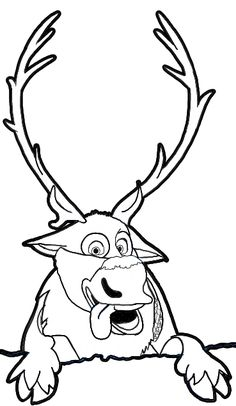 Frozen Characters Coloring Pages from Frozen Coloring