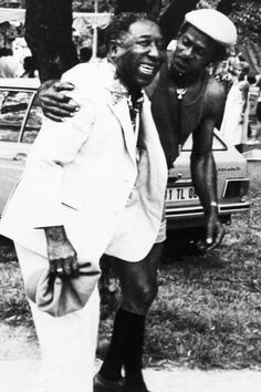 Muddy Waters and Chuck Berry in Europe...