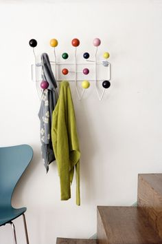 Eames Style Coat Hanger http://www.cadesign.ie/furniture/eames-coat-hooks/eames-style-coat-hooks/