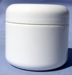 White Plastic Jar with Dome Lid 4 Oz - 12 Per Bag by Levine. $22.14. Great for storing powders and ointments. 4 oz white polyproylene double walled radius jar with dome lid. 12 per bag. 4 oz white ointment jar. Save 21% Off!