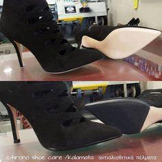 andislip soles  & heels