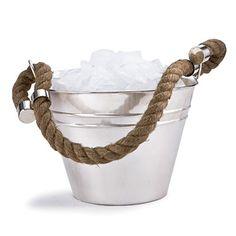 Nautical Ice Bucket < Nautical Decor - Coastal Living