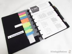 M by Staples Arc Customizable? Notebook System Neoprene Zip Cover