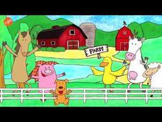▶ Fun Farm Song! (Walk Around the Farm) - YouTube