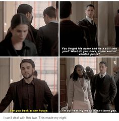 How to get away with murder. Asher and Connor